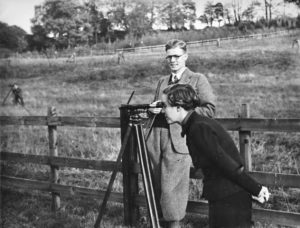 Practical Surveying, teaching a student 1937