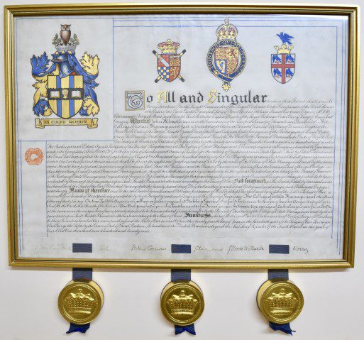 CEMs Royal Charter 1922