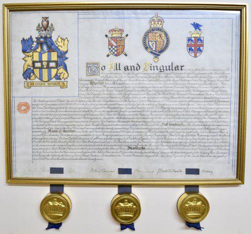 CEMs Royal Charter 1922