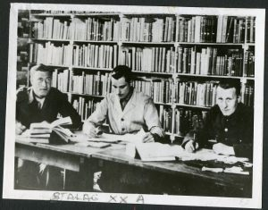 POWs studying in POW camp Stalag XXA located in Poland