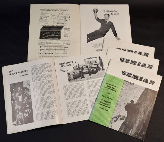 The Cemian student magazine from 1960s/70s