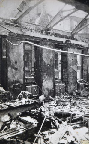 Blitz damage Lincoln's Inn Fields