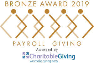 Payroll Giving bronze award 2019 logo