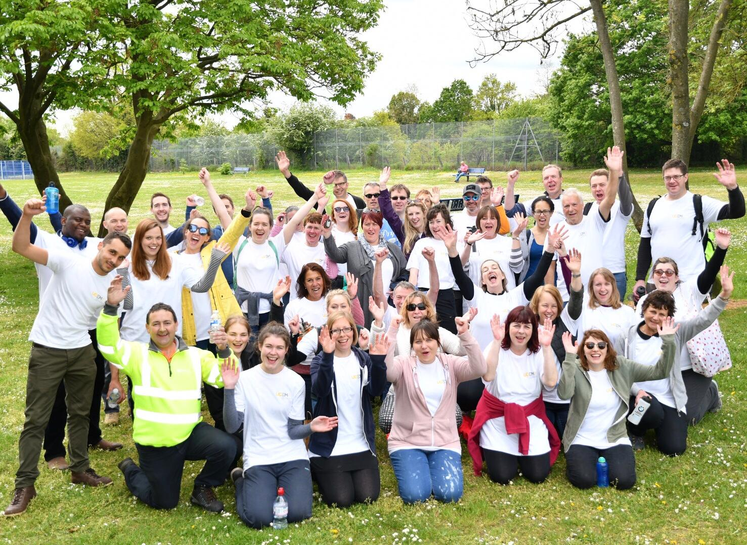 Focus on our centenary: Volunteering at Courage Park