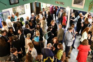 Reception after the panel discussion
