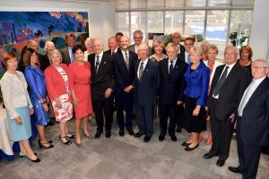 Picture of past UCEM Principals, Chairmen, Honorary Treasurers and Secretaries with their contemporaries