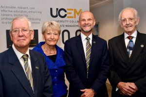 Picture of past UCEM Principals with their contemporary