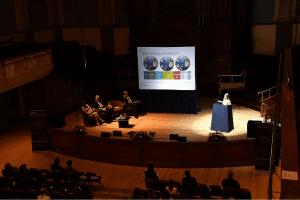 Sue Riddlestone OBE, discussing Bioregional
