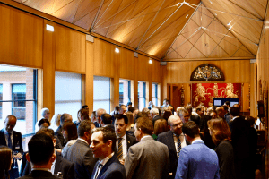 The guests at Haberdashers' Hall