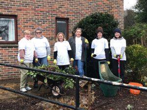 Volunteers at Purley Park Trust