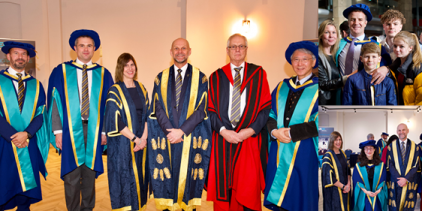 The recipients of the inaugural UCEM Honorary Degrees