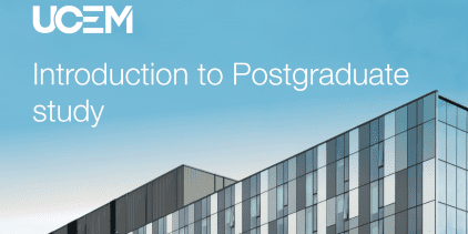 Introduction to postgraduate study webinar