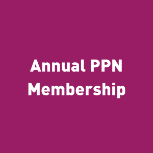 Annual PPN membership graphic