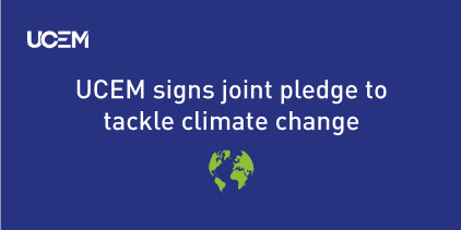 CIC climate change pledge news story graphic