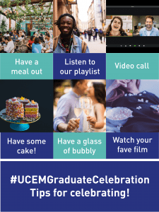 Graduate Celebration Week graphic