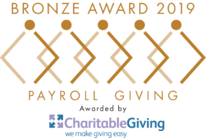 decorative image for payroll giving bronze award