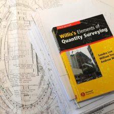 Quantity surveying book
