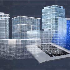 CAD of buildings