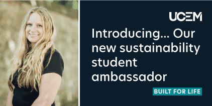 Sustainability ambassador blog graphic