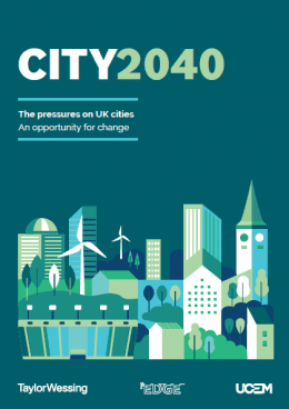 City 2040 research report front cover