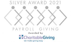 Silver Award 2021 - Payroll Giving